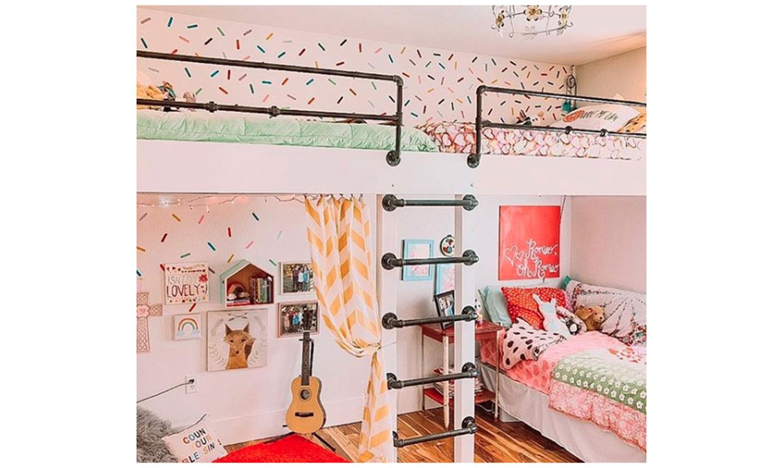 lofted kids room