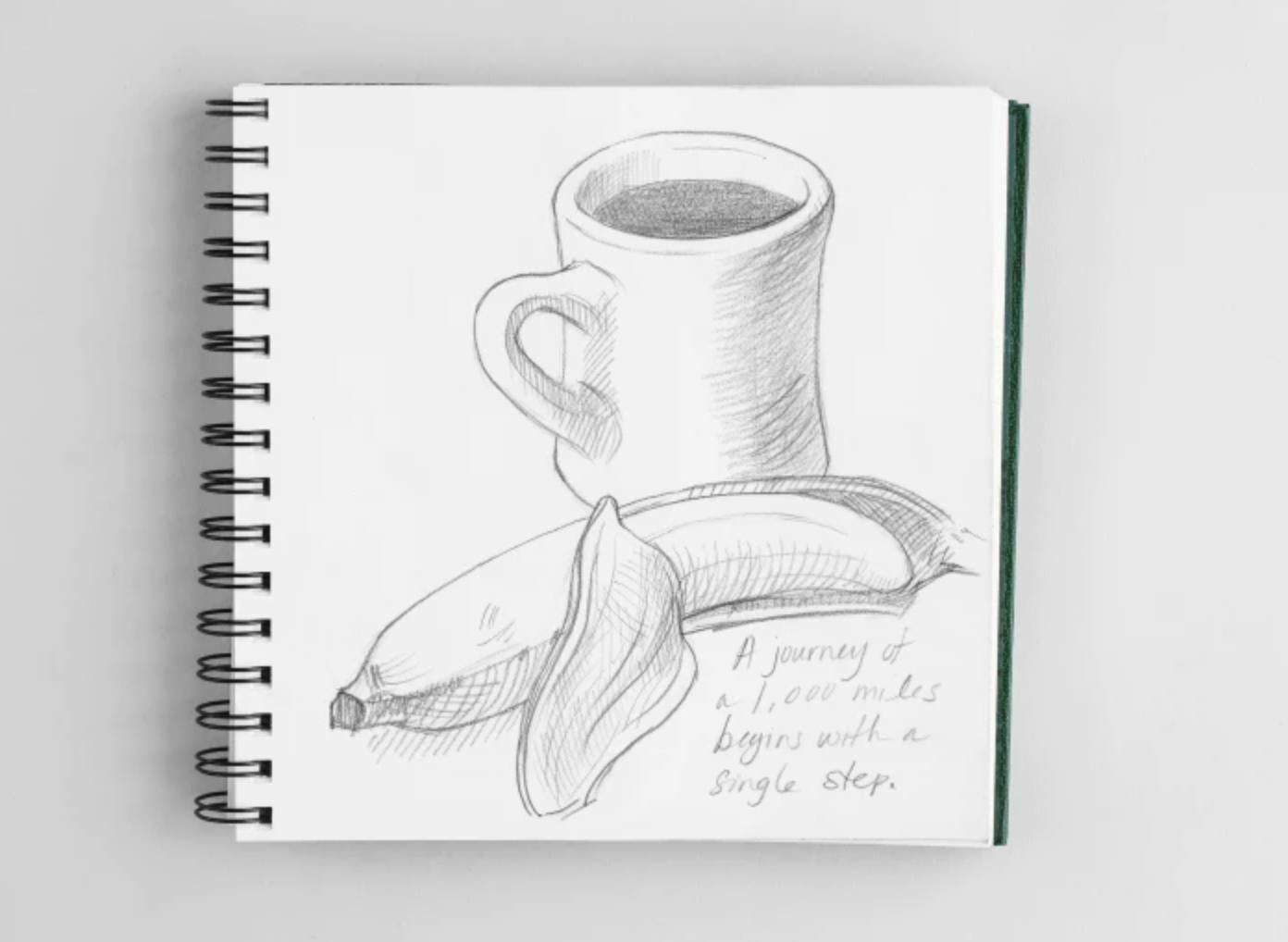 sketching breakfast