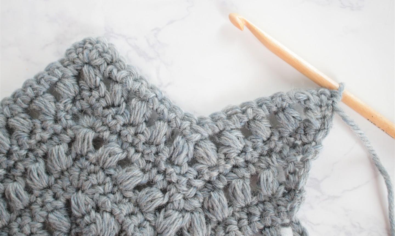 puff stitch chevron