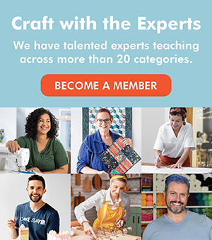 become a member of craftsy.com