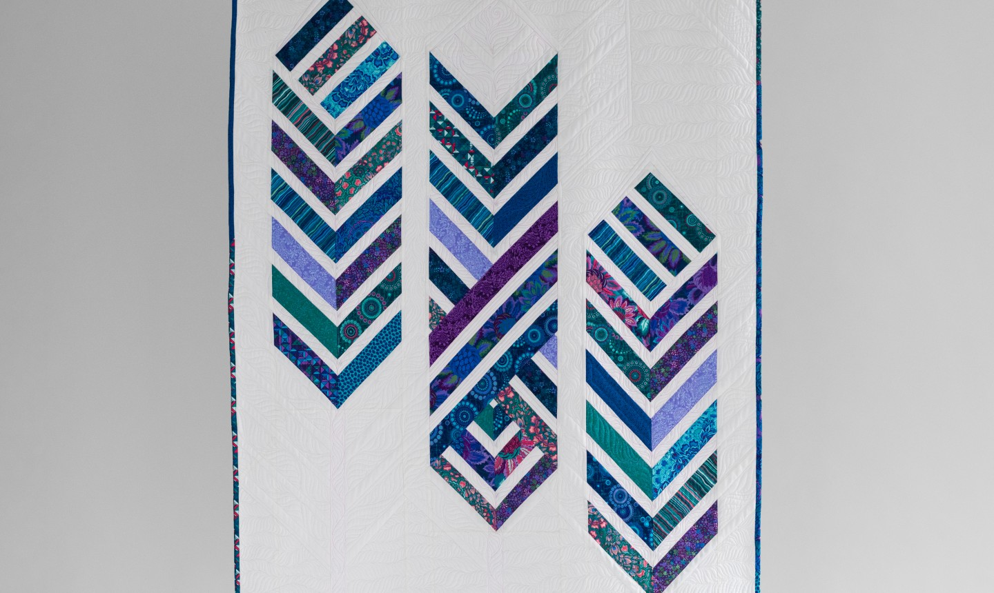 feathered arrows quilt