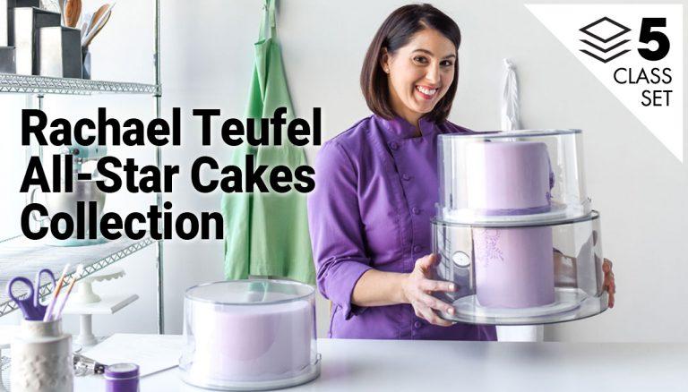 Rachael Teufel All-Star Cakes Collection 5-Class Set