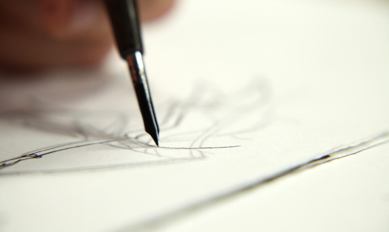 pen drawing line