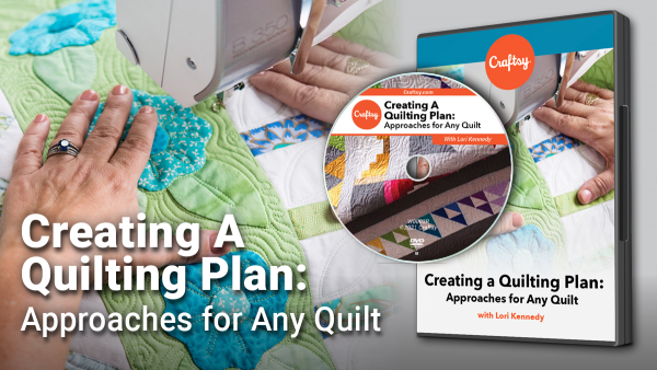 Craftsy Creating a Quilting Plan DVD