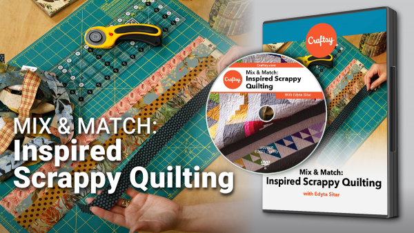 Craftsy Inspired Scrappy Quilting DVD