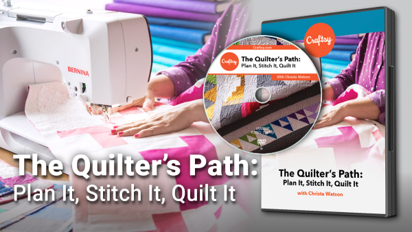 Craftsy The Quilter's Path DVD
