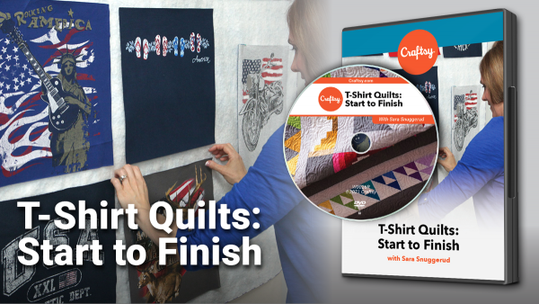 Craftsy T-Shirt Quilts DVD