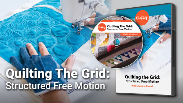 Craftsy Quilting the Grid DVD