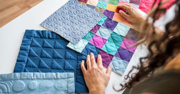 Grid quilt