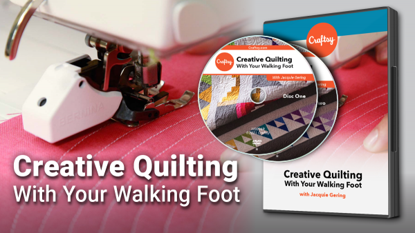 Craftsy Creative Quilting DVD