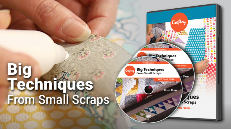Big Techniques from Small Scraps DVD