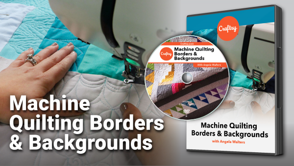 Craftsy Machine Quilting Borders DVD