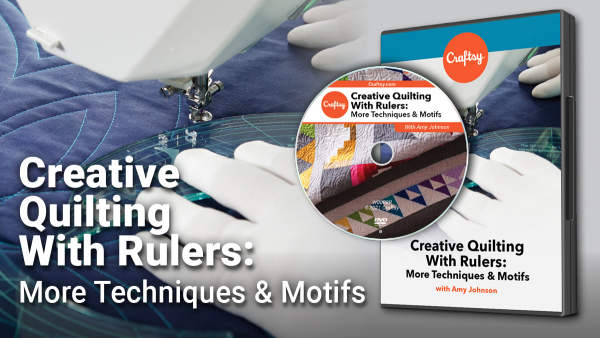 Craftsy Creative Quilting with Rulers DVD