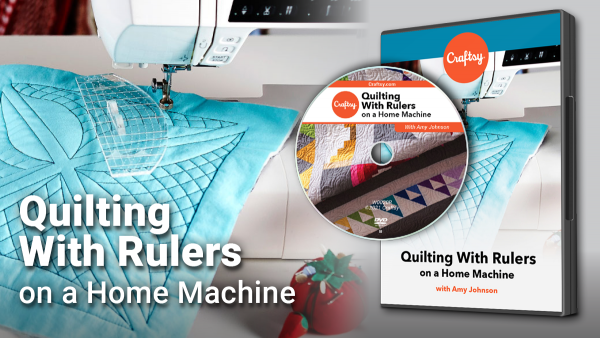Craftsy Quilting with Rulers on a Home Machine DVD