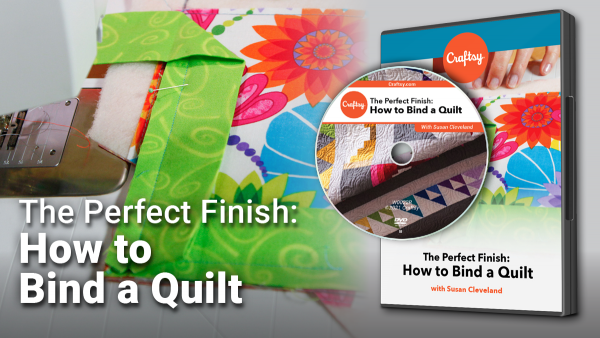 Craftsy How to Bind a Quilt DVD