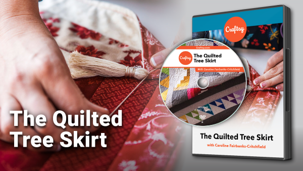 Craftsy Quilted Tree Skirt DVD