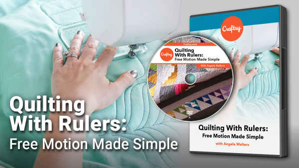 Craftsy Quilting With Rulers DVD