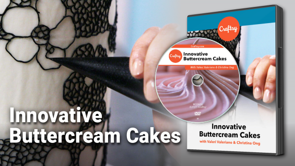 Craftsy Innovative Buttercream Cakes DVD