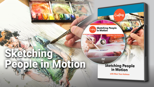 Craftsy Sketching People in Motion