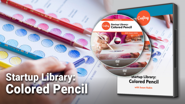 Craftsy Startup Library: Colored Pencil DVD