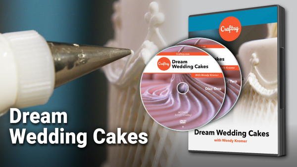 Craftsy Dream Wedding Cakes DVD