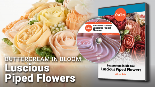Luscious Piped Flowers DVD for Craftsy