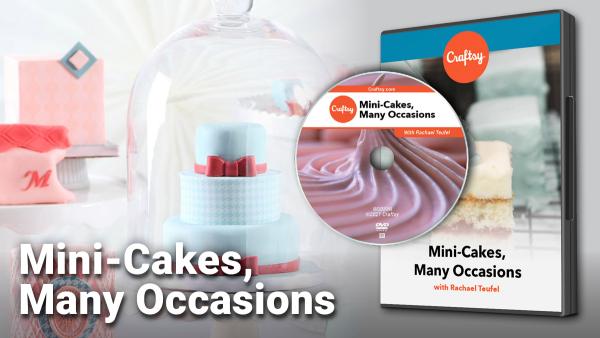 Craftsy Mini-Cakes DVD