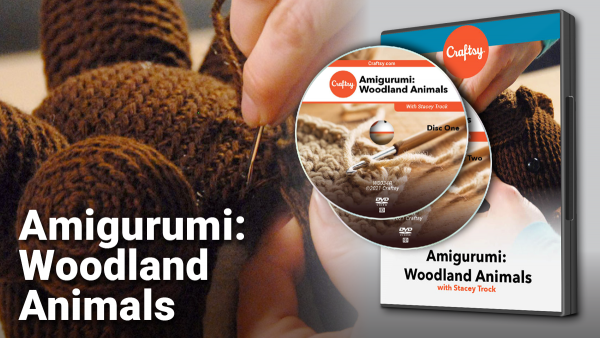 Craftsy Amigurimi: Woodland Animals DVD