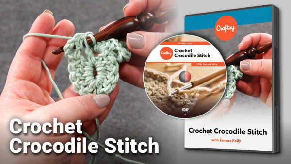 Craftsy Crochet Crocodile Stitch DVD