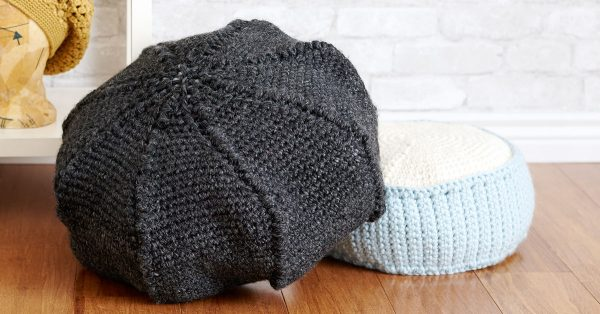 Two different crochet pieces