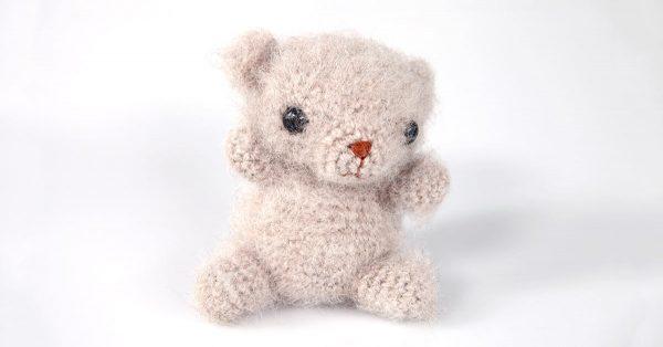 Crochet mini bear