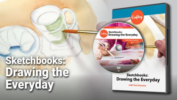 Craftsy Sketchbooks DVD