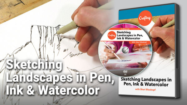 Craftsy Sketching Landscapes DVD