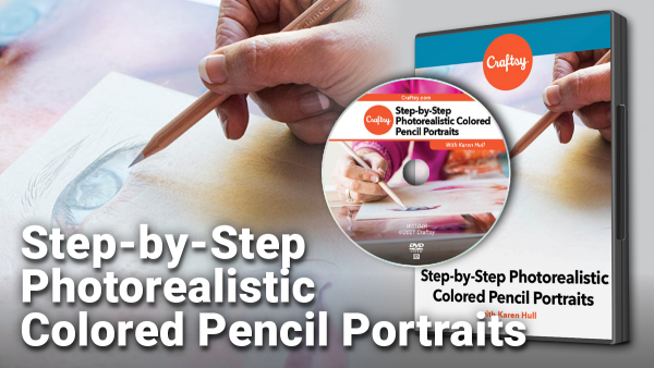 Craftsy Photorealistic Colored Pencil Portraits DVD