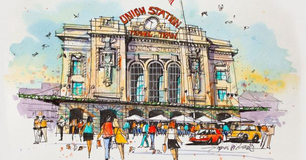 Sketch of Union Station