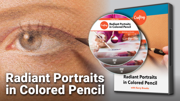 Craftsy Radiant Portraits in Colored Pencil DVD