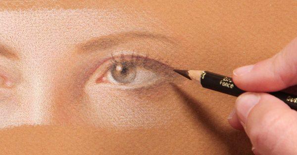 Drawing a realistic eye