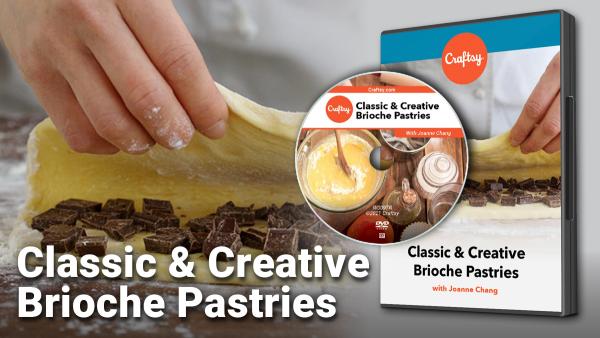 Craftsy Classic and Creative Brioche Pastry DVD