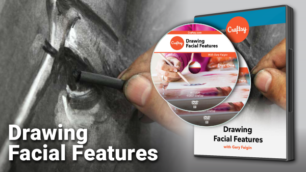 Craftsy Drawing Facial Features DVD