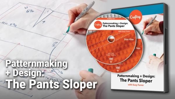 Craftsy The Pants Sloper DVD