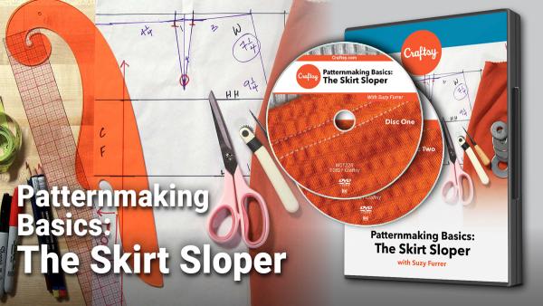 Craftsy Patternmaking Basics: The Skirt Sloper DVD