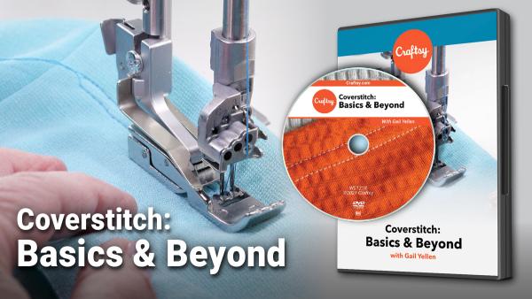 Craftsy Coverstitch Basics and Beyond DVD