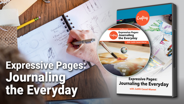 Cratsy Expressive Pages: Journaling the Everyday DVD