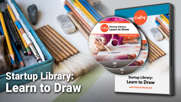 Craftsy Startup Library: Learn to Draw DVD