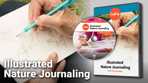 Craftsy Illustrated Nature Journaling DVD