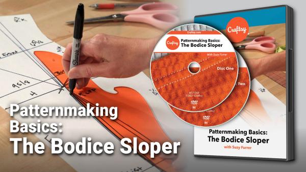 Craftsy Pattern Basics: The Bodice Sloper DVD