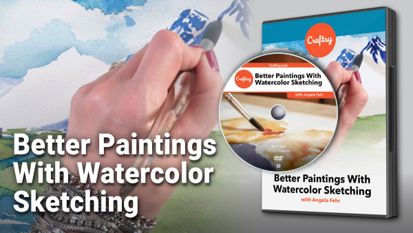 Craftsy Better Paintings with Watercolor Sketching DVD