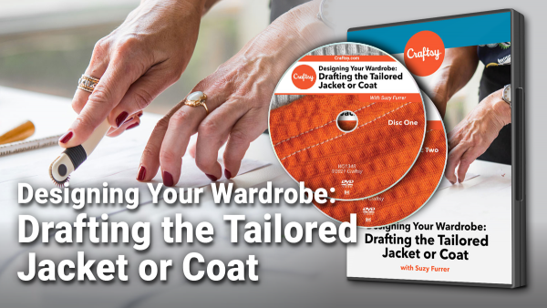 Craftsy Drafting the Tailored Jacket or Coat DVD