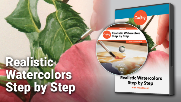 Craftsy Realistic Watercolors DVD