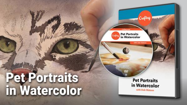 Craftsy Pet Portraits in Watercolor DVD